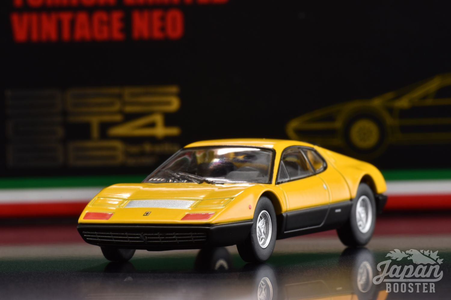 LV-FERRARI 365 GT4 BB YELLOW