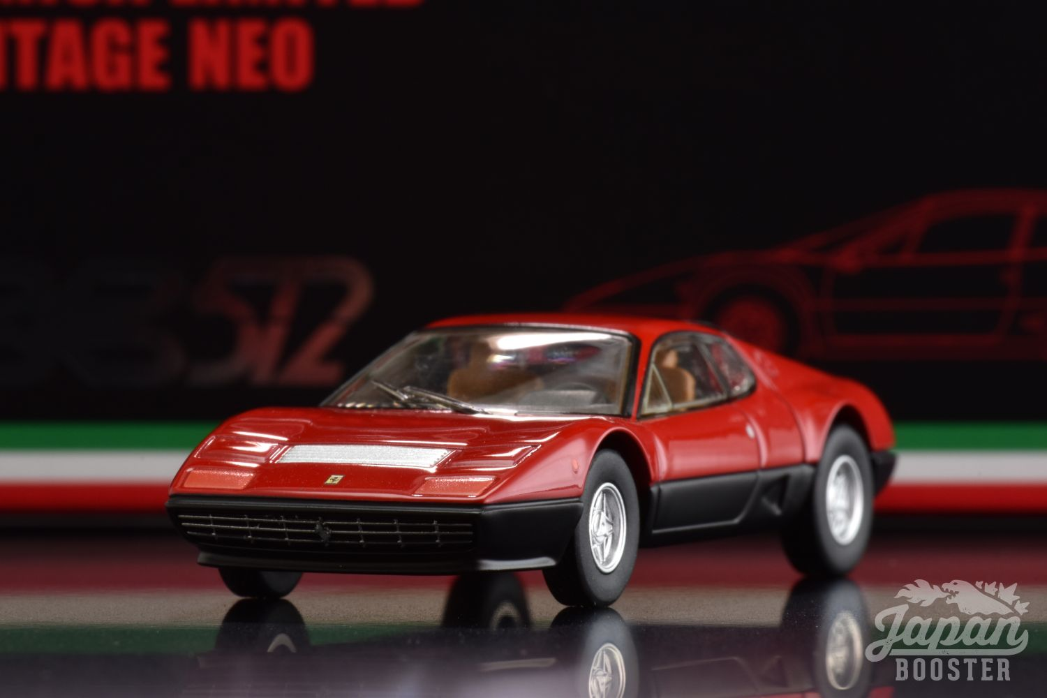 LV-FERRARI 512BB Red