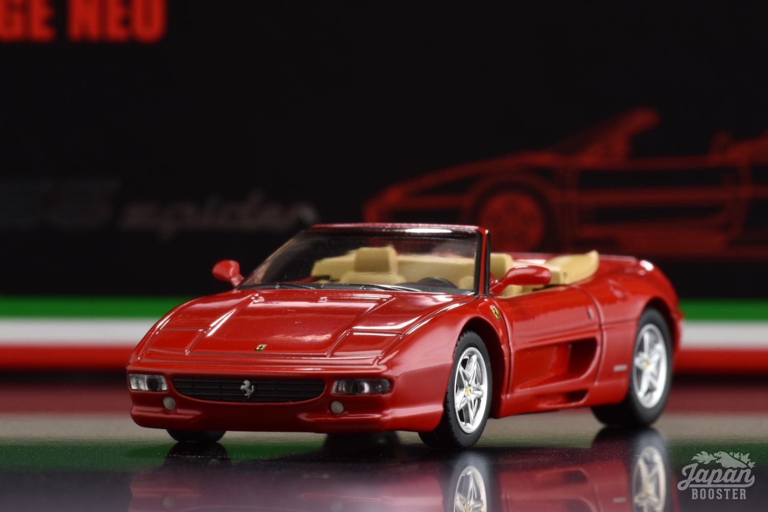 LV-FERRARI F355 SPIDER RED